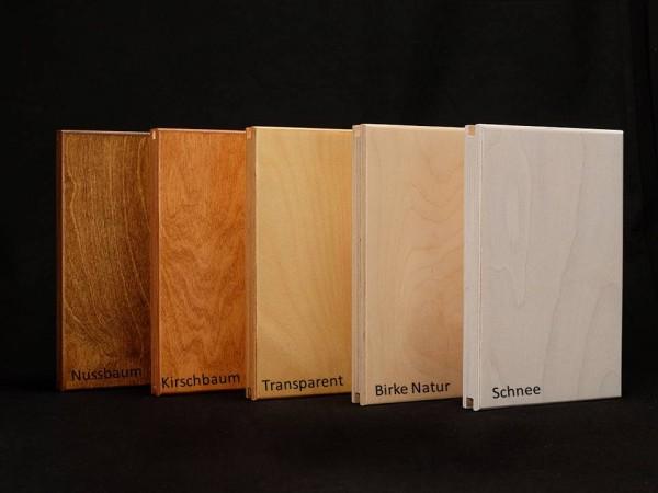 Wandschale Holzfarben