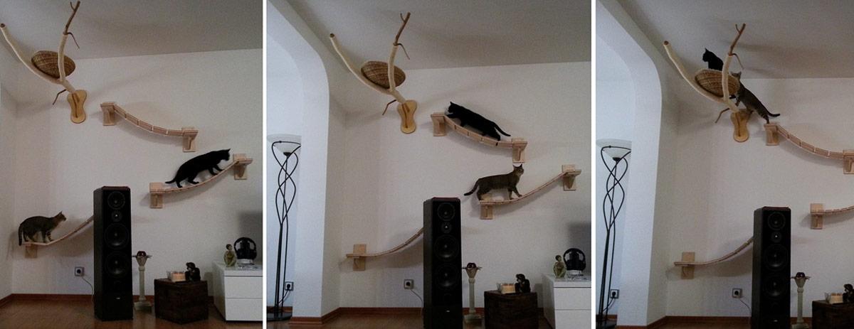 Katzenm bel kratzbaum katzen zubeh r designer kratzbaum - Trepadores para gatos ...
